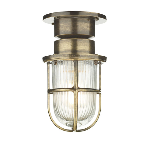 Coast 1 LT Ceiling Light Antique Brass COA0175 - The Light Company