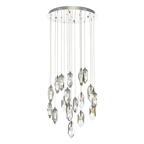 Crystal 18 Lt Cluster Chandelier CRY1850