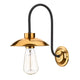 Dallas Wall Light Copper David Hunt Lighting DAL0764