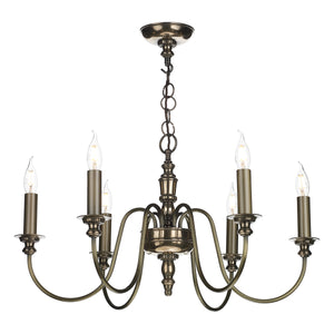 Dickens 6 Light Bronze DIC0663