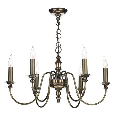 The Dickens 6 Light Bronze DIC0663