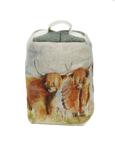 Voyage Maison Highland Cattle Door Stop