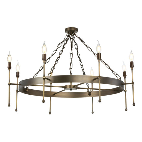Durrell 8 Light Pendant David Hunt Lighting DUR0875
