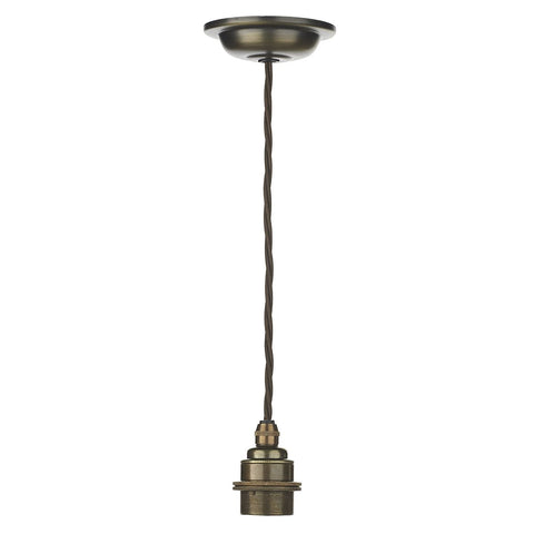 Duxford Suspension Bronze DUX6575 David Hunt Lighting