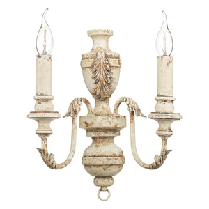 Emile Double Wall Bracket EMI0955 Rustic French