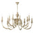 Emile 12 Light Chandelier Rustic French EMI1255