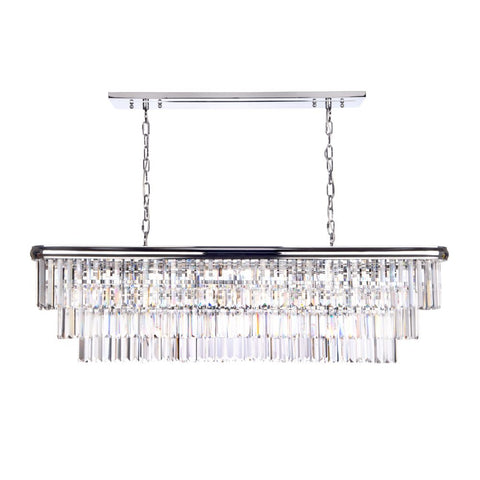 Eulalia 10 Light Chandelier där Lighting EUL2350