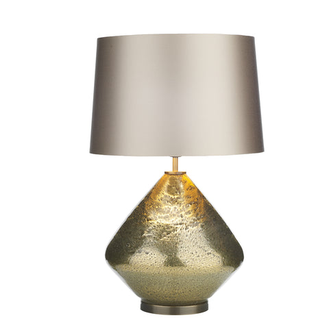The Evora Table Lamp Volcanic Gold Glass Base Only EVO4335