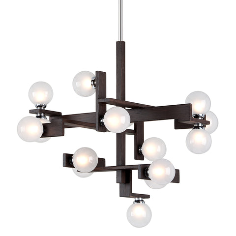NETWORK Chandelier F6074-CE Troy Lighting