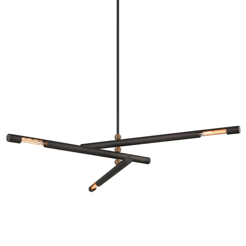 HENDRIX Chandelier F6886-CE Troy Lighting