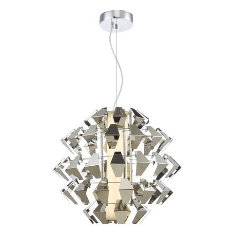 Falcon Pendant FAL8650 Chrome LED där lighting