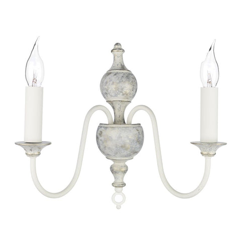 Flemish Double Wall Light Grey / Gold FLE0912