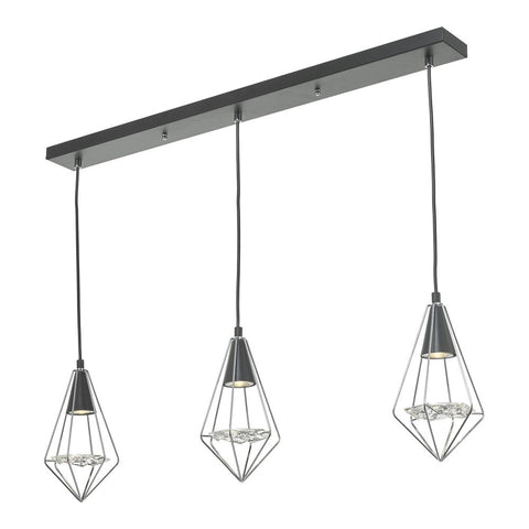 Gianni Triple Pendant Island Light där lighting GIA0350