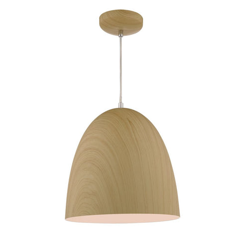 Glynne Wood Effect Pendant Dar Lighting