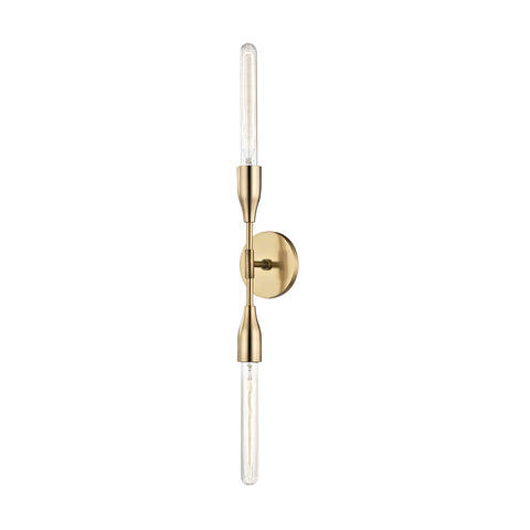 TARA Wall Sconce H116102-AGB-CE Mitzi Lighting