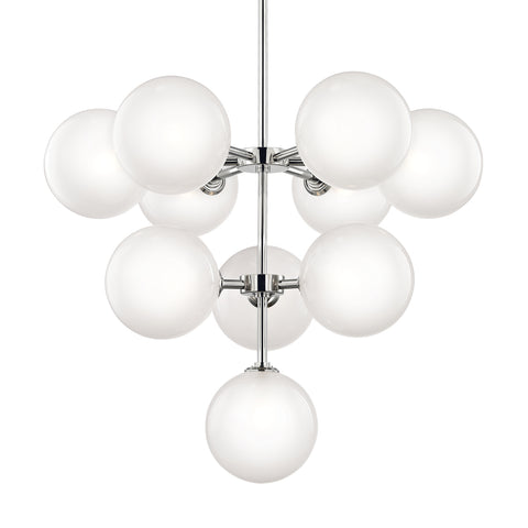 ASHLEIGH Chandelier H122810-PN-CE Mitzi Lighting