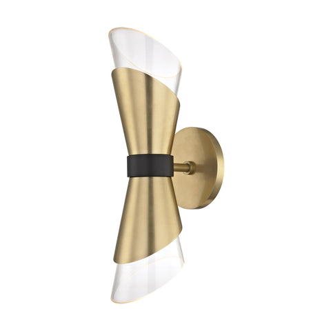 ANGIE Wall Sconce H130201-AGB/BK-CE Mitzi Lighting