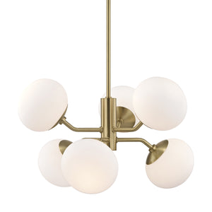 ESTEE Chandelier H134806-AGB-CE Mitzi Lighting