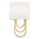 FARAH WALL SCONCE H210102-AGB-CE Mitzi Lighting