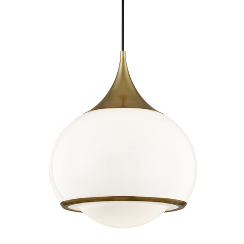Reese Pendant H281701L-AGB-CE Mitzi Lighting