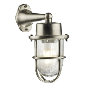 Harbour Wall Light Nickel HAR1538 - The Light Company