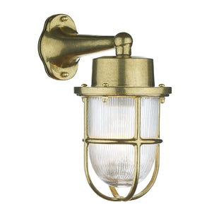 Harbour Wall Light Brass HAR1540 - The Light Company