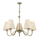 Hicks 5 Light Chandelier David Hunt Lighting HIC0575