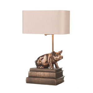 Horace Table Lamp Base Only Copper HOR4264 David Hunt Lighting
