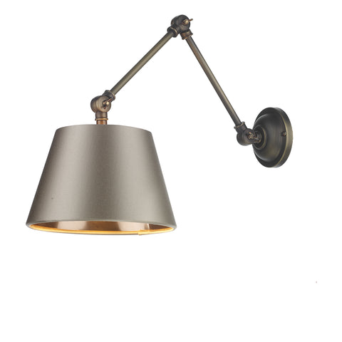 Hoxton Wall Light David Hunt Lighting HOX0775 Almond Cream