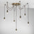 Huckleberry 7 Light Cluster Pendant HUC3463