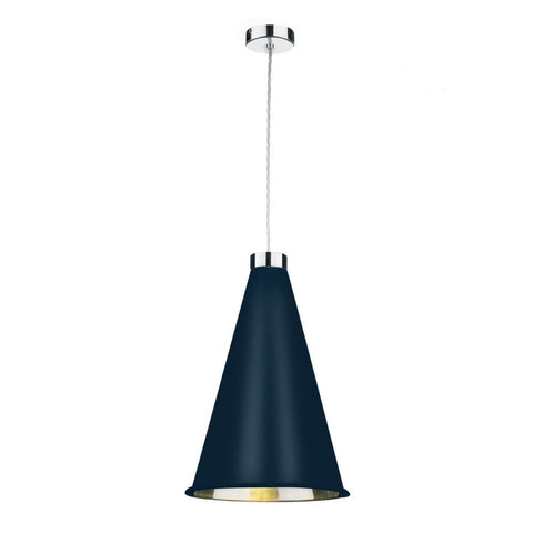 Hyde  Large Pendant Polished Chrome Bespoke Finish HYD8699C