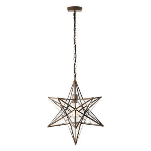 Ilario Large Star Lantern Pendant där lighting ILA8675