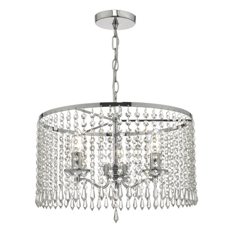 Jocelyn Crystal Pendant där lighting JOC0338