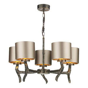 Joshua Ceiling 5 Light JOS0599 Bespoke Shade David Hunt Lighting