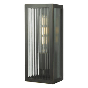 Keegan Outdoor Wall Light Rubbed Bronze Small KEE5263 där lighting