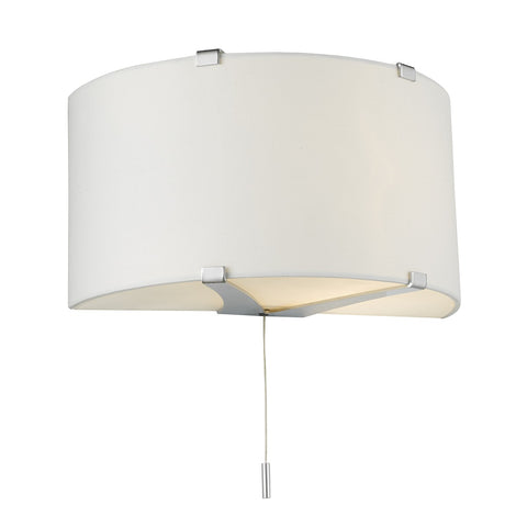 Kennedy Wall Light Comes with Silk Shade KEN0999 - The Light Company