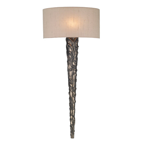 Knurl Bronze Wall Light KNU0700 David Hunt Lighting