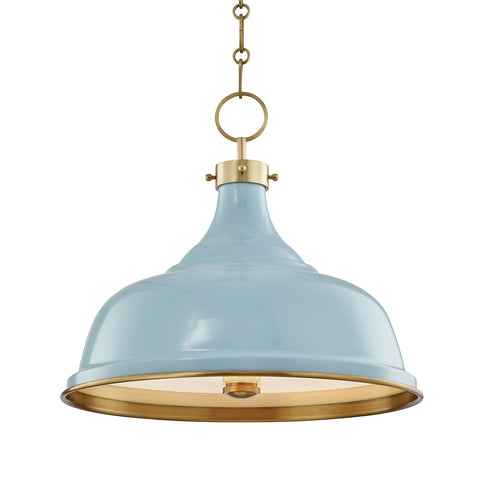 Painted No.1 PENDANT MDS300-AGB/BB-CE Hudson Valley Lighting