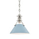 Painted No.2 PENDANT MDS351-PN/BB-CE Hudson Valley Lighting