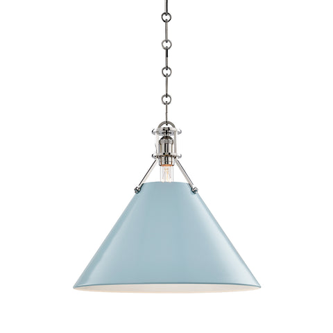 Painted No.2 PENDANT MDS352-PN/BB-CE Hudson Valley Lighting