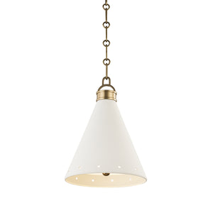 Plaster No.1 Pendant MDS400-AGB/WP-CE Hudson Valley Lighting