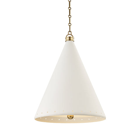 Plaster No.1 Pendant MDS402-AGB/WP-CE Hudson Valley Lighting