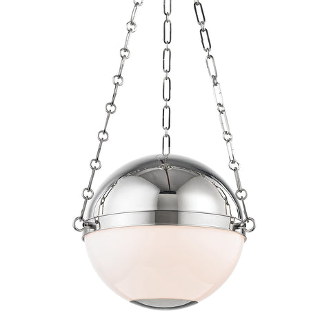 Sphere No.2 PENDANT MDS750-PN-CE Hudson Valley Lighting