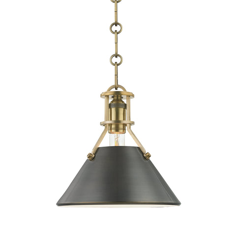 Metal No.2 PENDANT MDS951-ADB-CE Hudson Valley Lighting