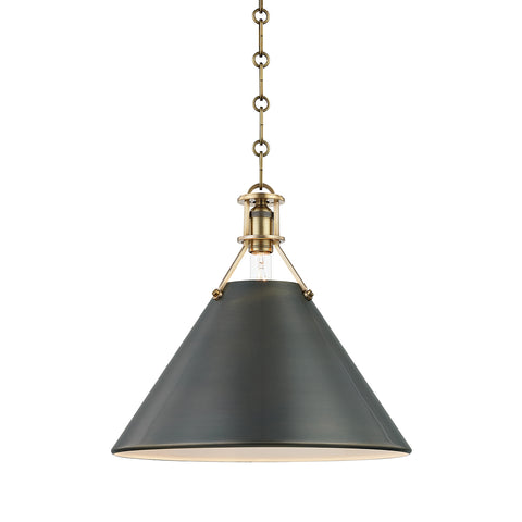Metal No.2 PENDANT MDS952-ADB-CE Hudson Valley Lighting