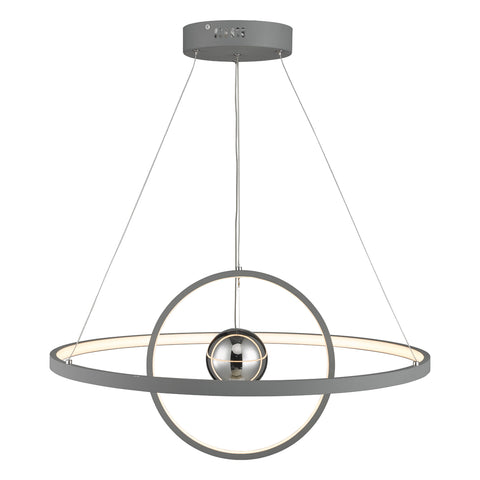 Mercury Pendant Graphite MER8839 där lighting
