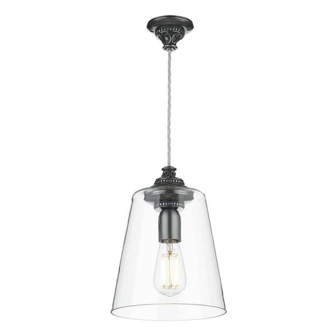 Oyster Pendant Pewter OYS0167 David Hunt Lighting