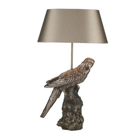 Parrot Table Lamp Base Only Bronze PAR4263 David Hunt Lighting