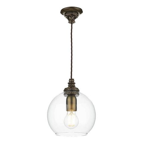 Pearl Bronze Pendant PEA0163 David Hunt Lighting