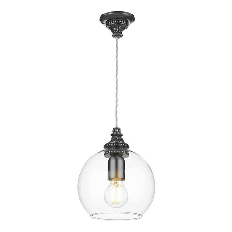 Pearl Pewter Pendant PEA0167 David Hunt Lighting